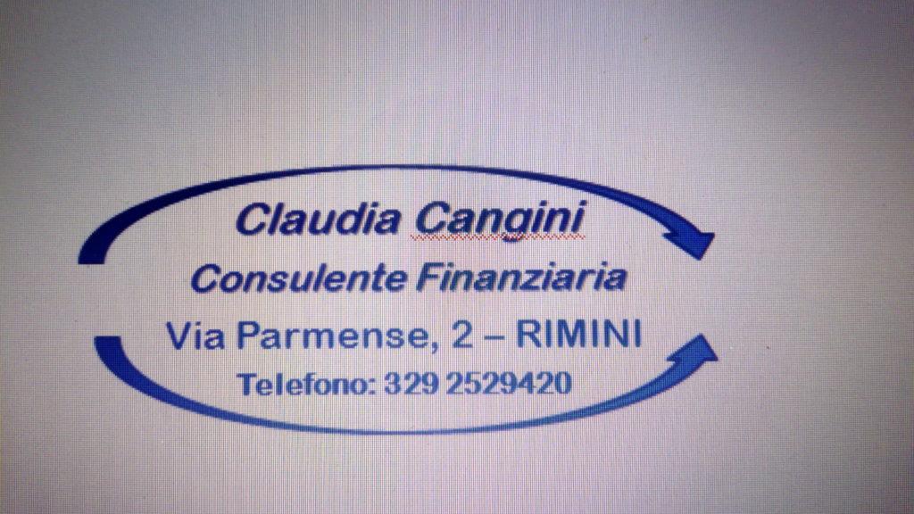 CLAUDIA CANGINI - CONSULENTE FINANZIARIO